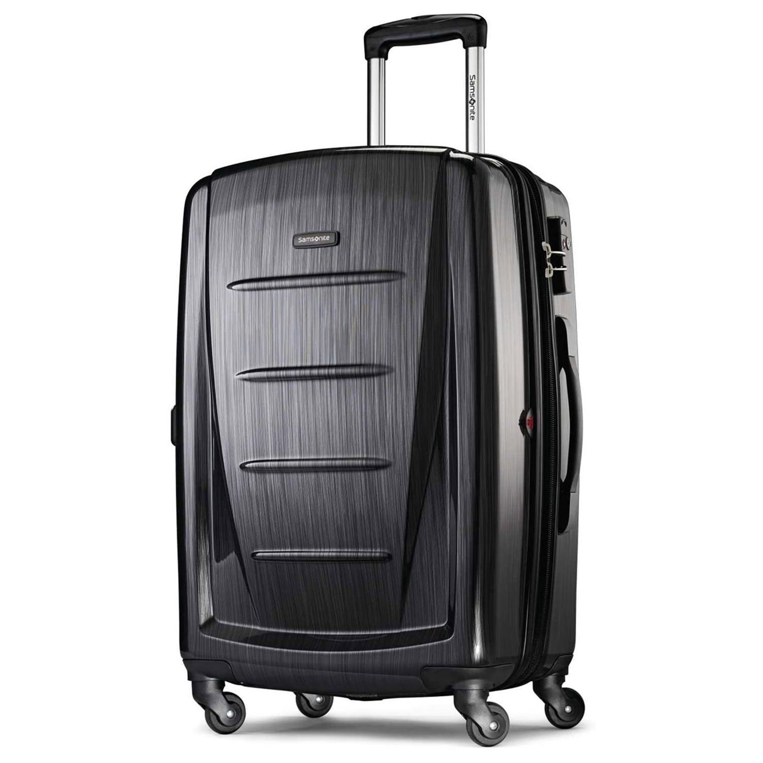 samsonite winfield expandable luggage spinner wheels