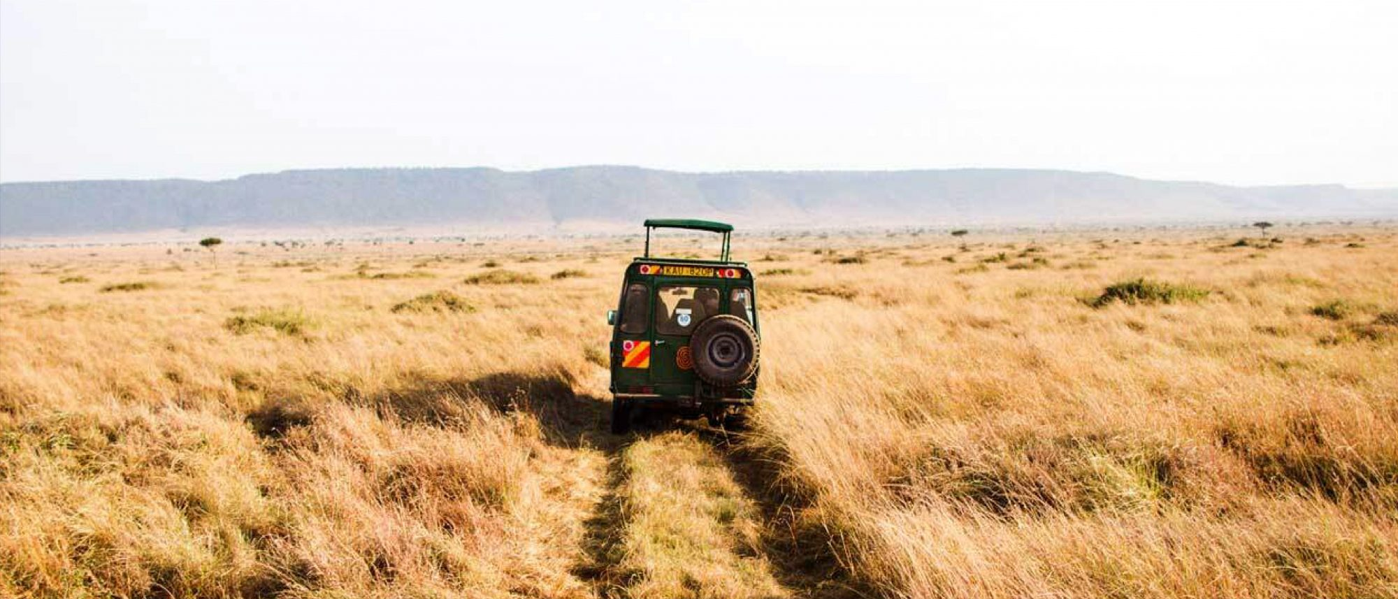 The Masai Mara located in Kenya.