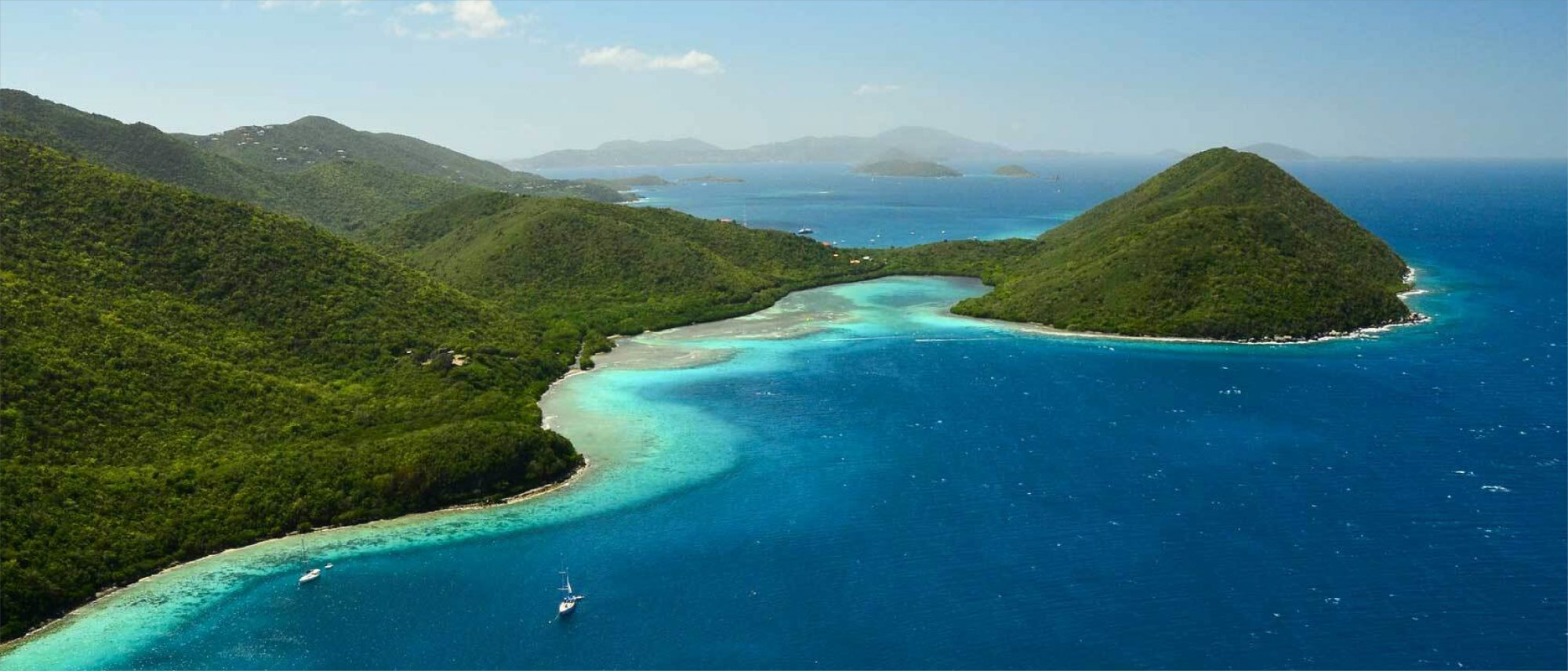 Beaches from St. John in the USVI