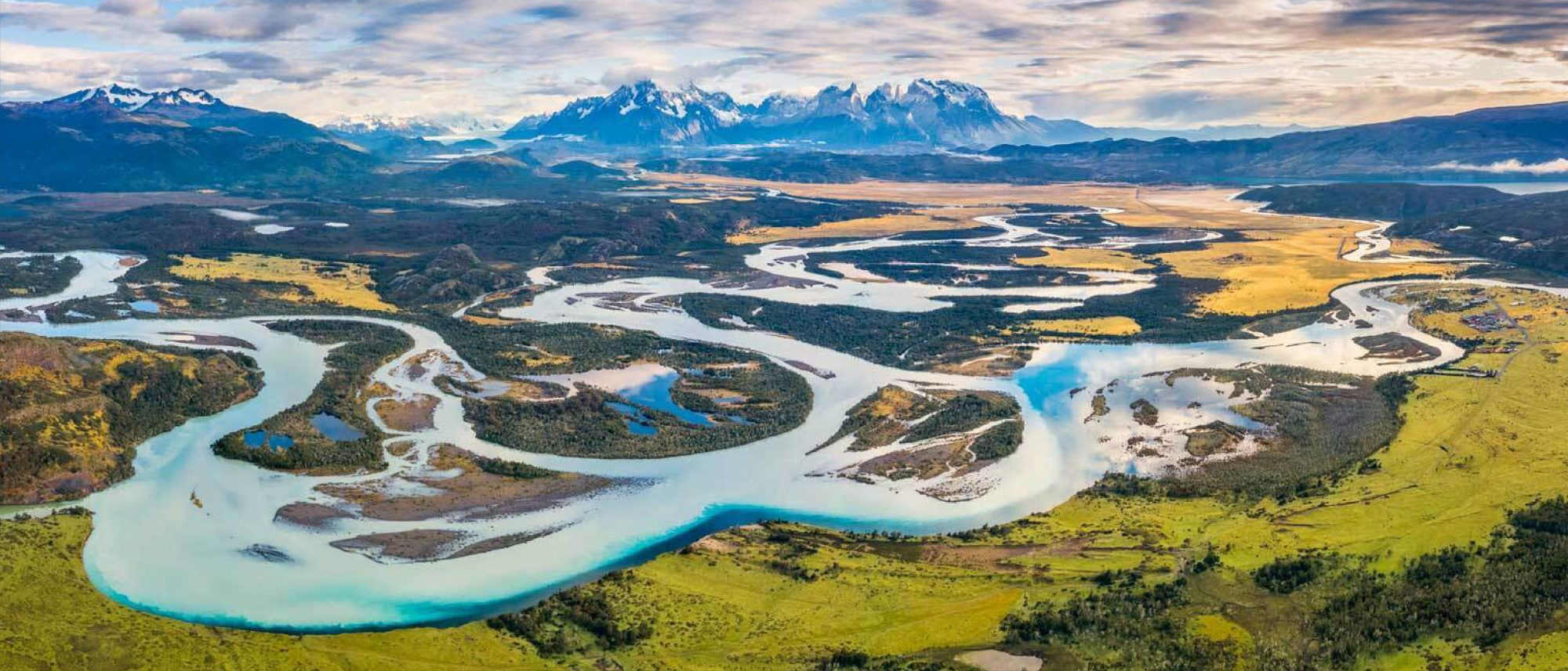 Torres del Paine National Park in Chile, Patagonia.