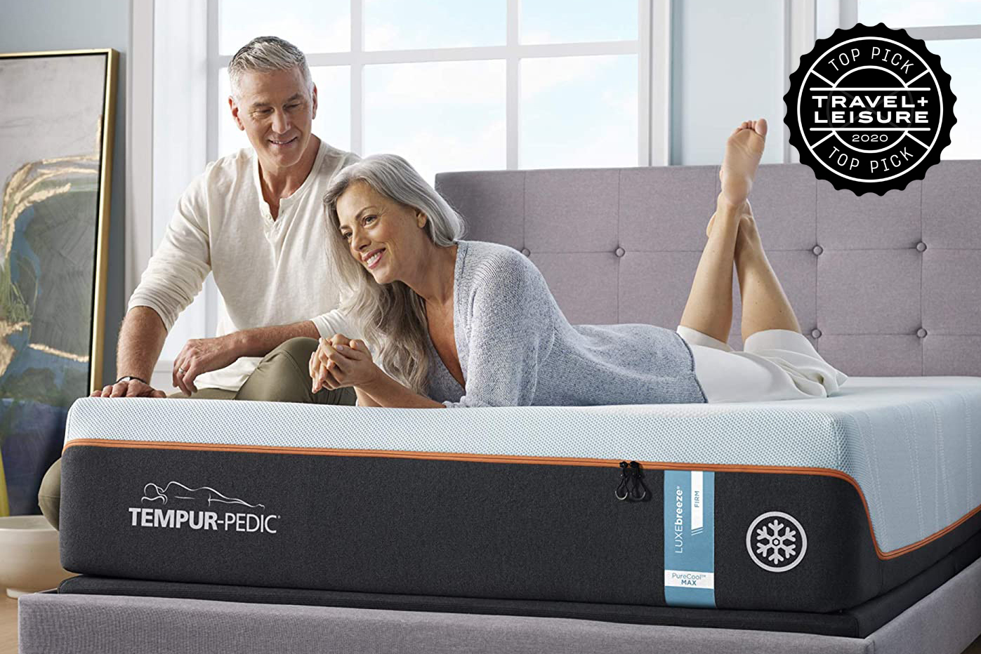 tempur-pedic luxebreeze cooling mattress