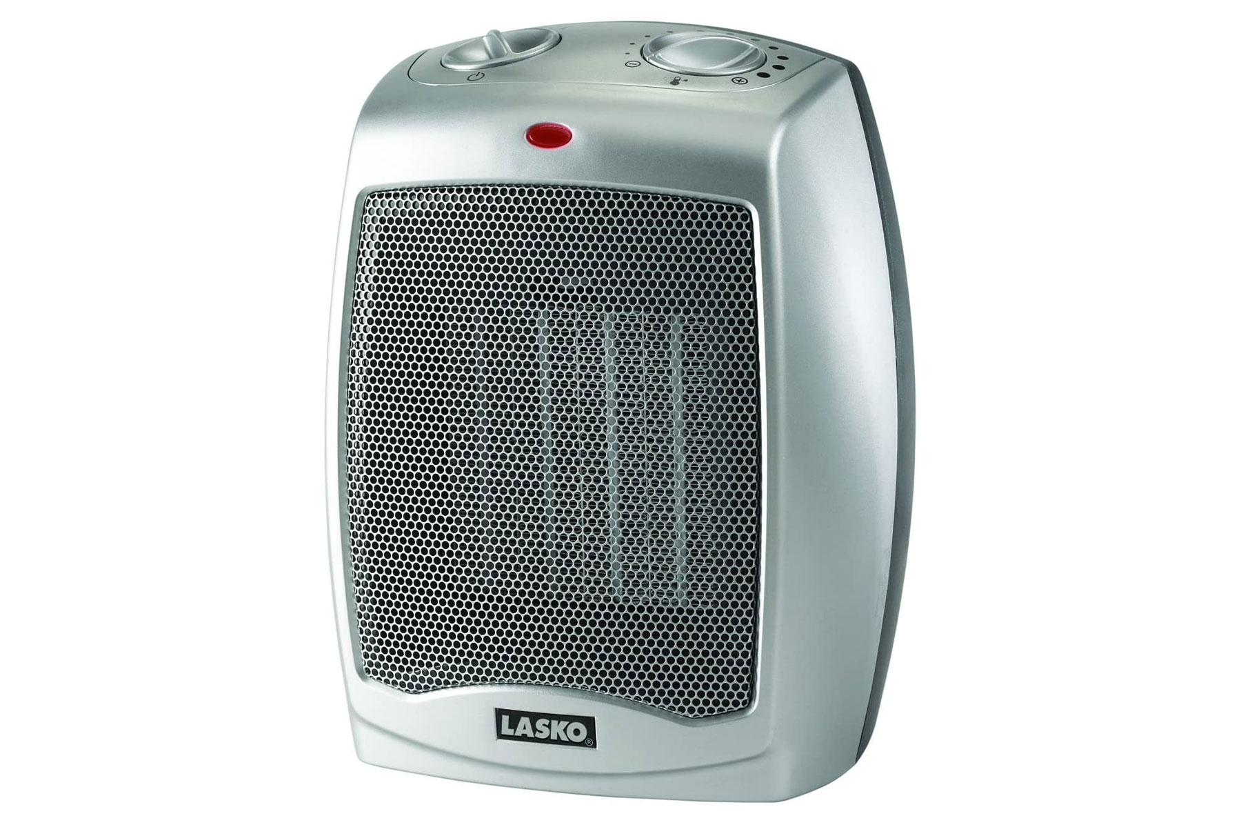 Silver space heater