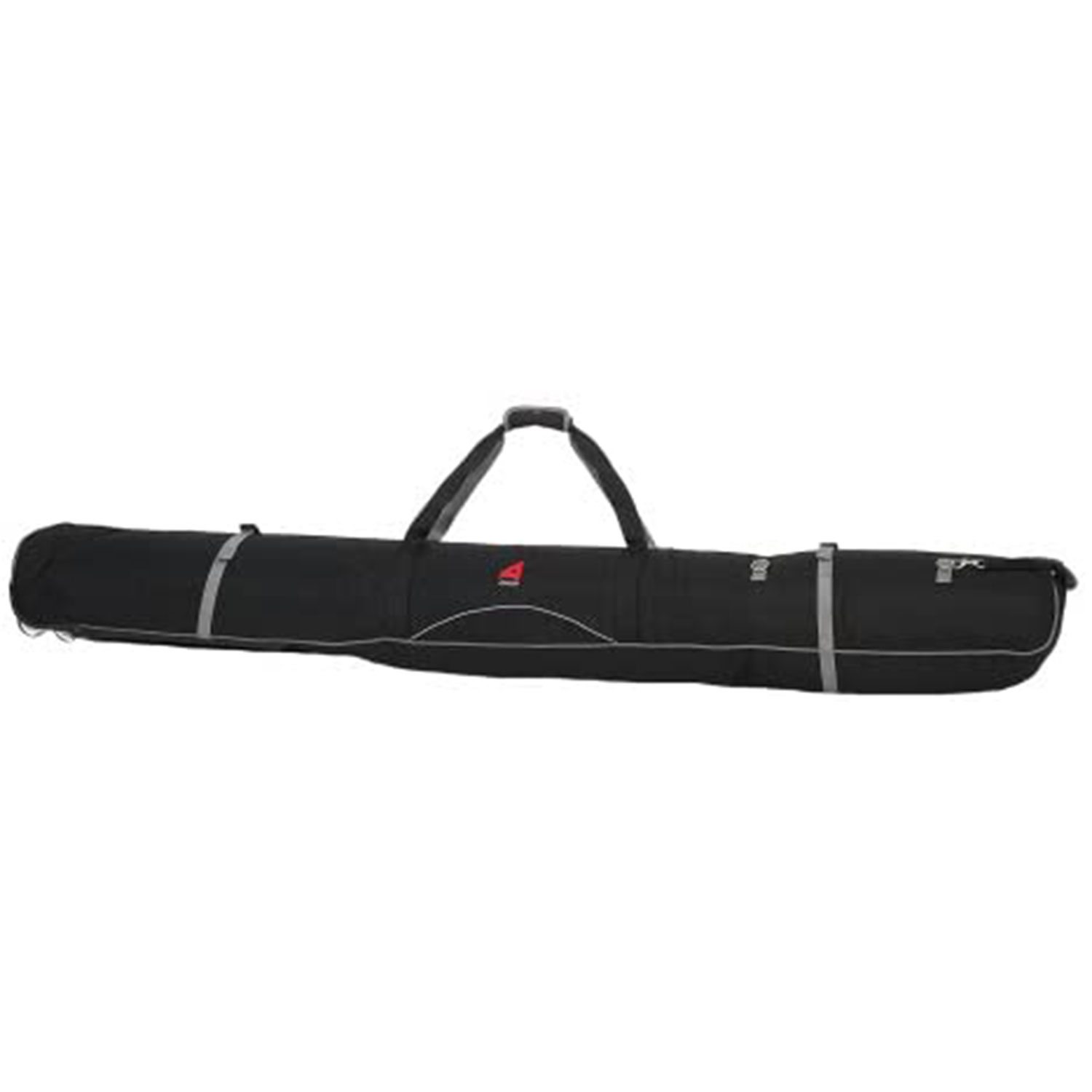 athalon padded wheeling double ski bag