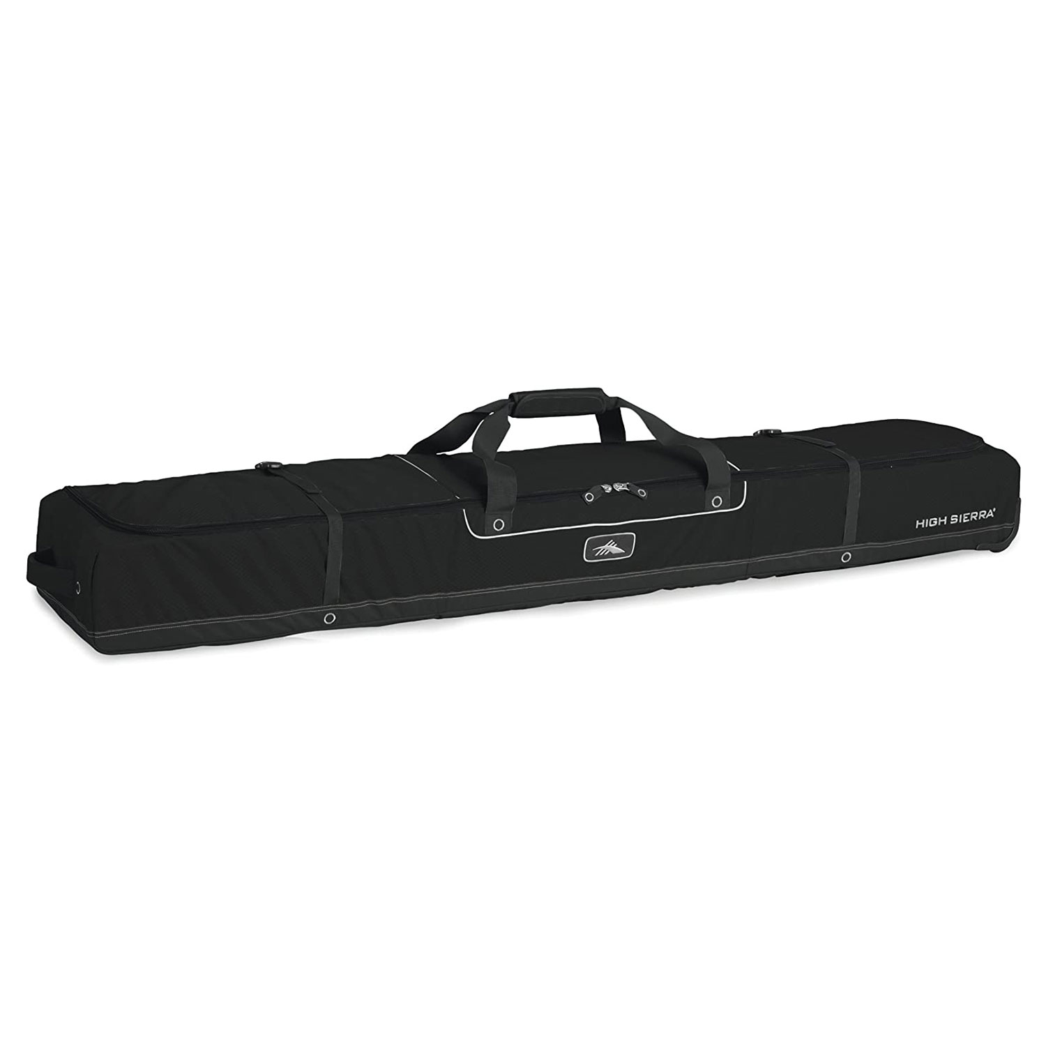 high sierra wheeled bag two pairs skis