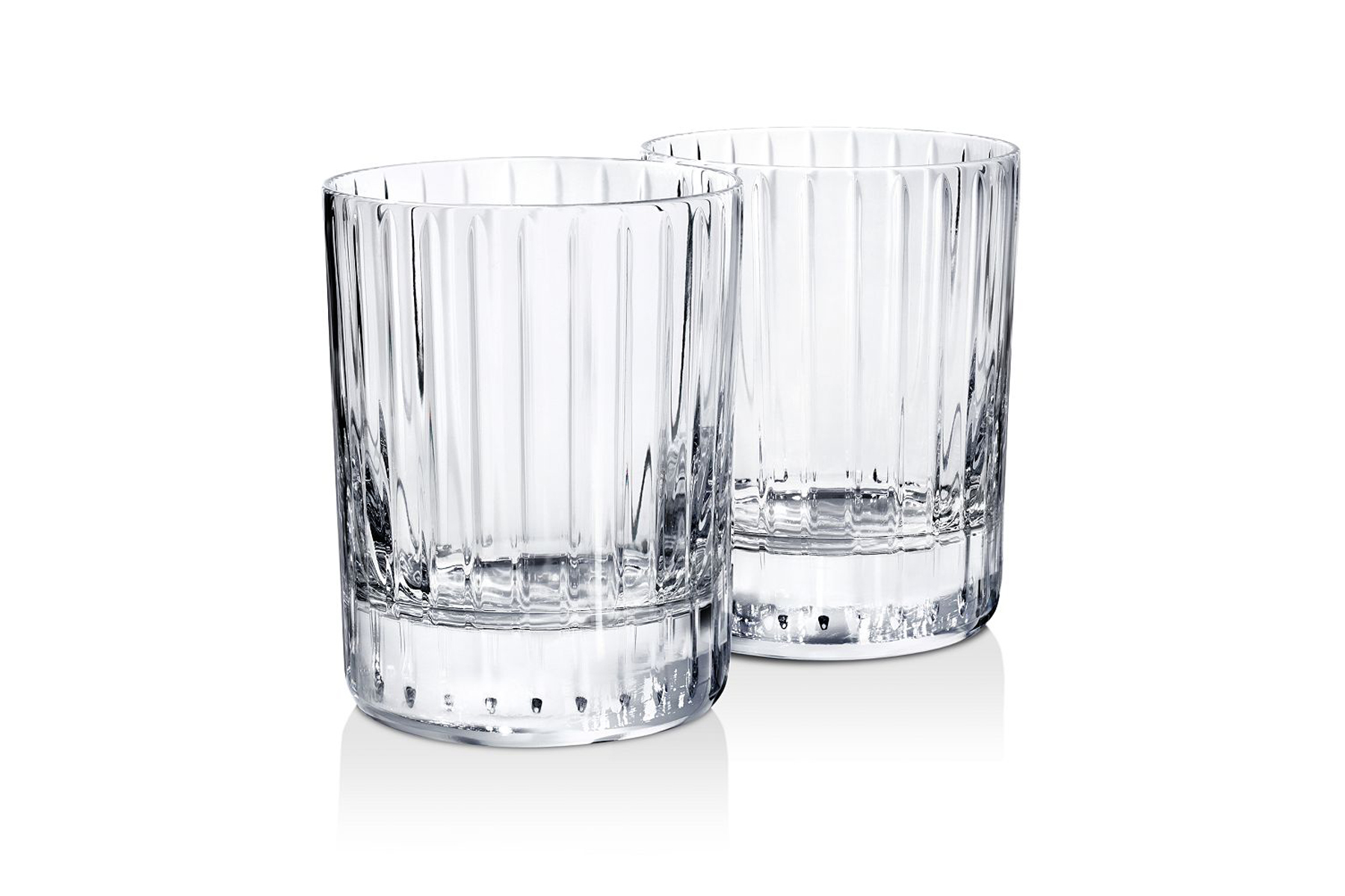 Baccarat double Old Fashioned tumbler set