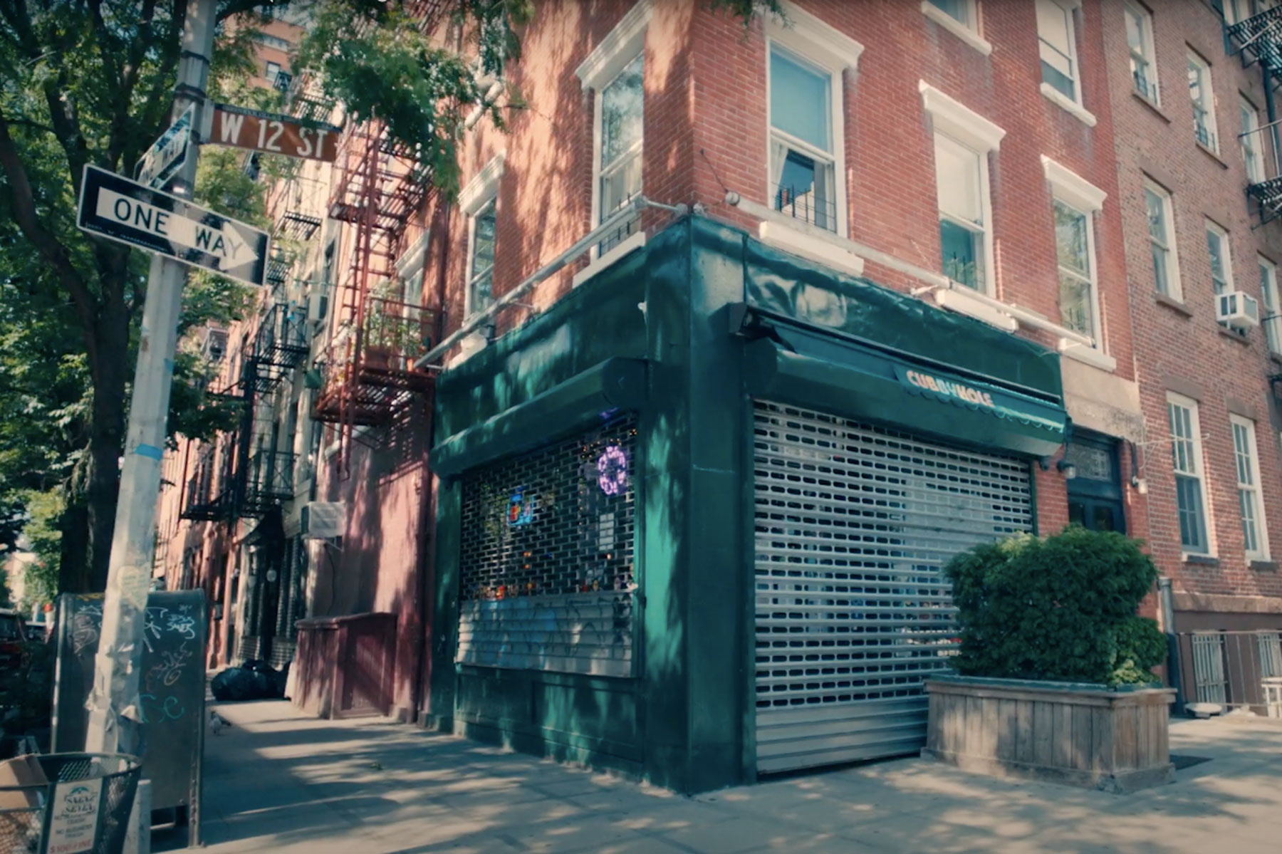 Cubbyhole Bar in the West Village