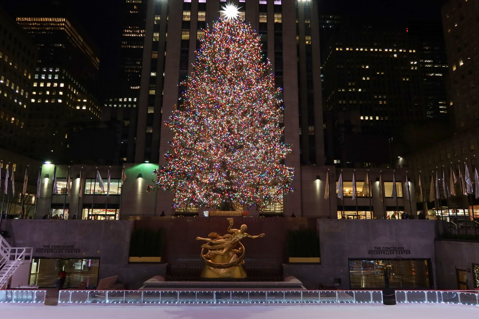 Download Rockefeller Christmas Tree 2021