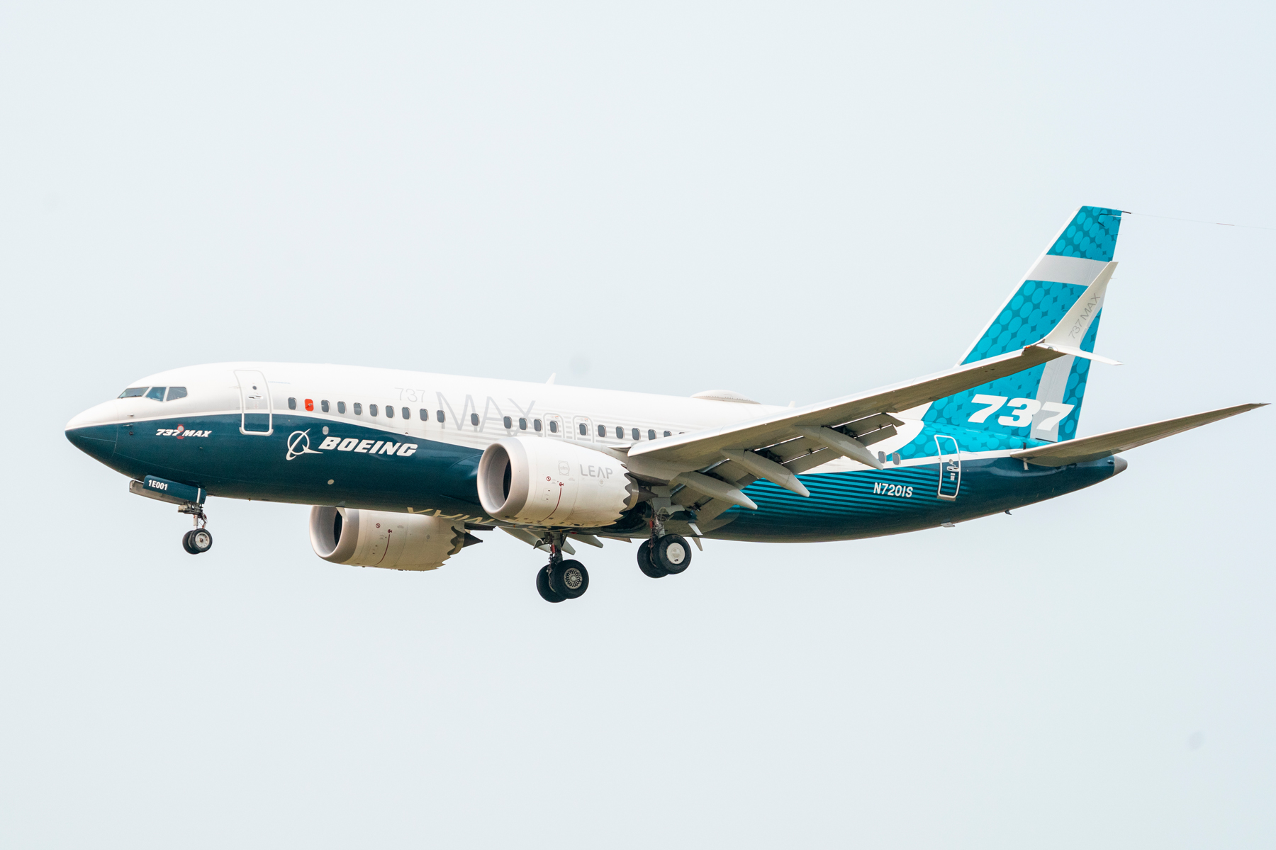 Boeing 737 MAX airplane