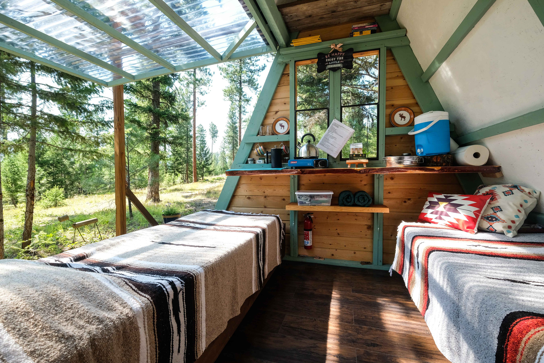 Cabin vacation rental in Bonner, Montana