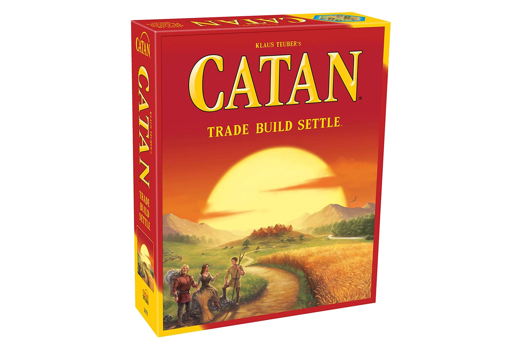 Settlers of Catan game box