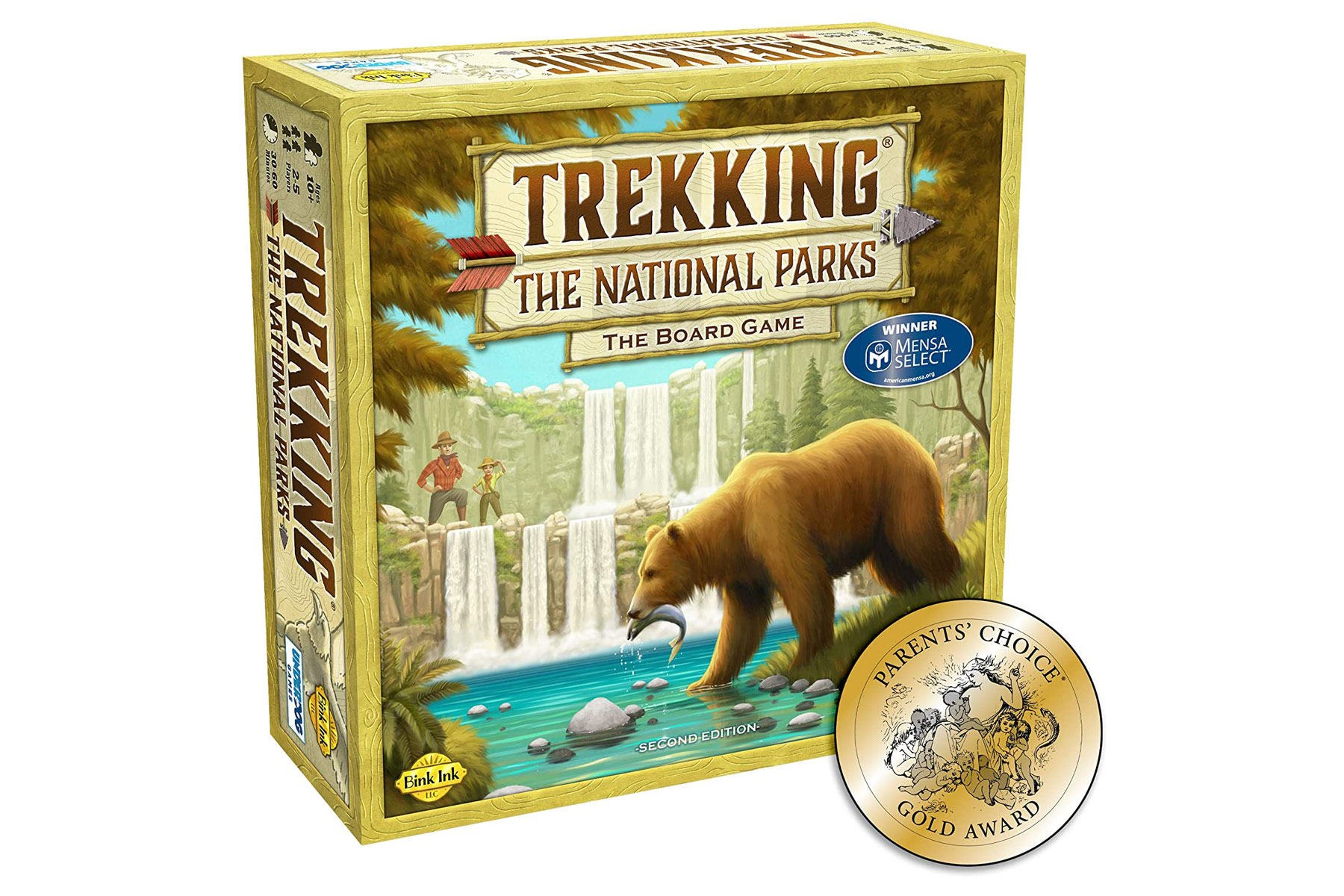 Trekking the National Parks game