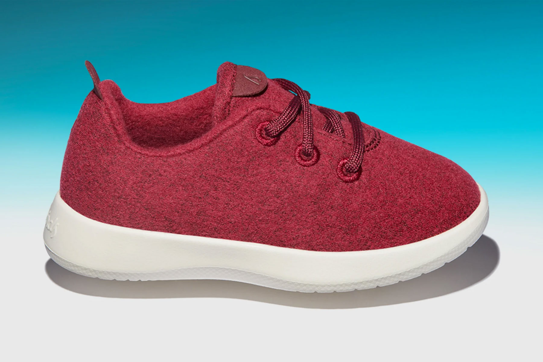Red kids' sneakers