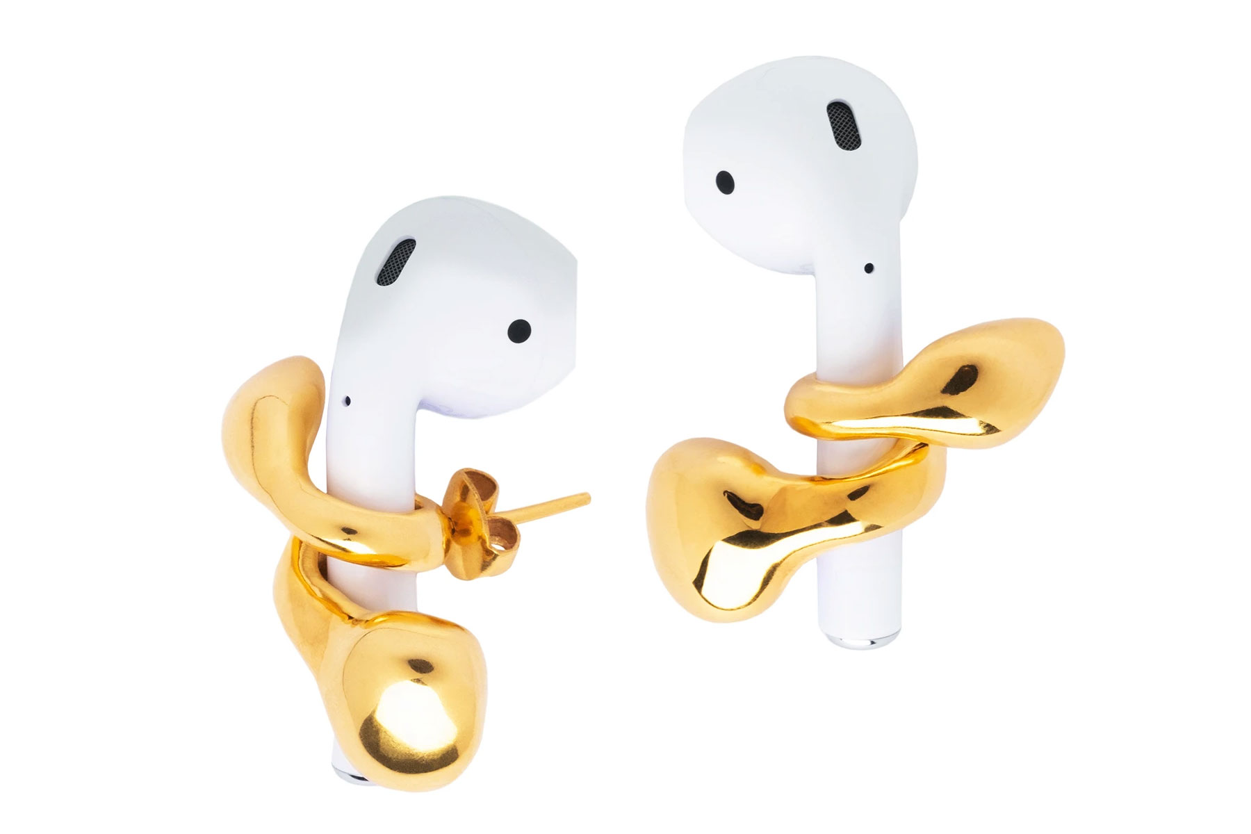 """AirPods are already a great gift for the techie, traveler, or music lover in your life, but take it up a notch by pairing them with Misho's Pebble Pods, earrings meant to help secure the AirPods in the wearer's ears — and boost their style game in the process, "" — Nina Ruggiero, Deputy Digital EditorTo buy: (AirPods Pro) amazon.com, $TK; Misho Pebble Pods, mishodesigns.com, $120"