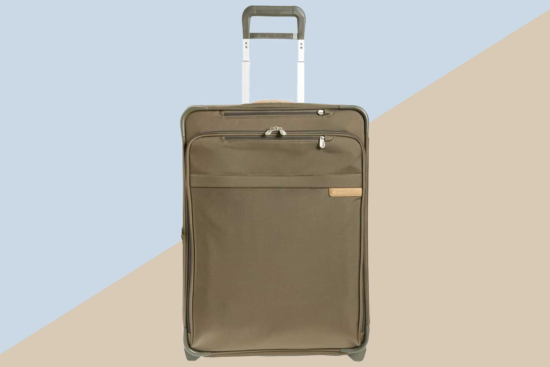 Green Briggs & Riley Baseline 25-inch Expandable Wheeled Packing Case