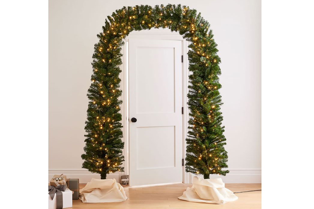 arch tree lights cyber monday west elm