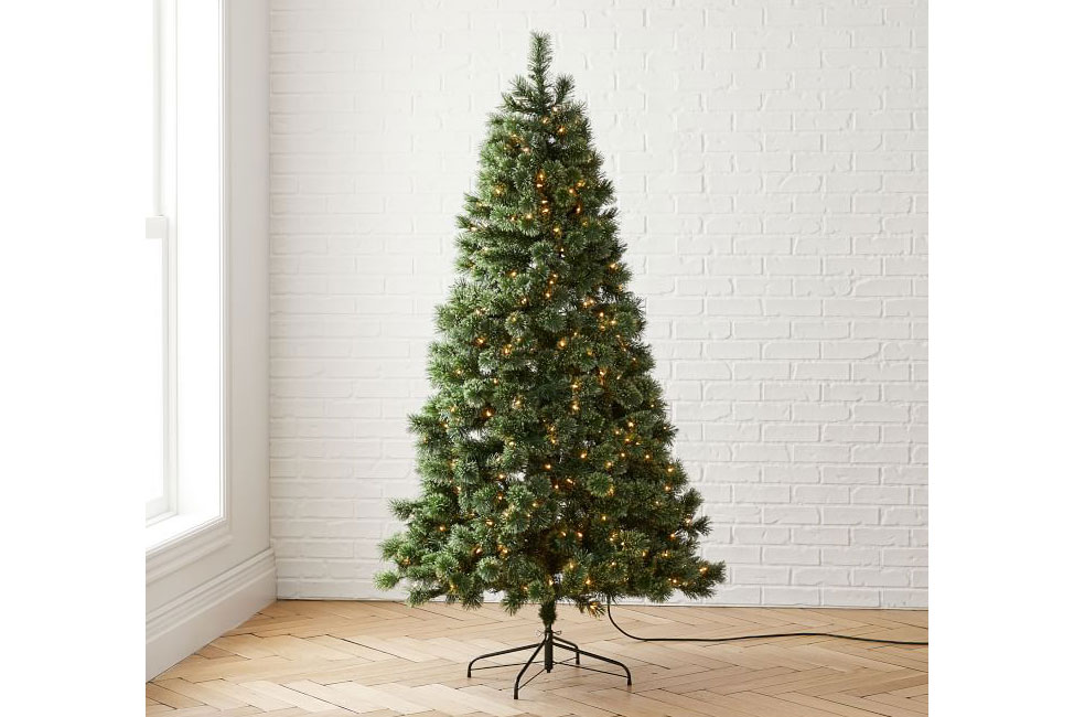 cashmere pine tree west elm holiday cyber monday