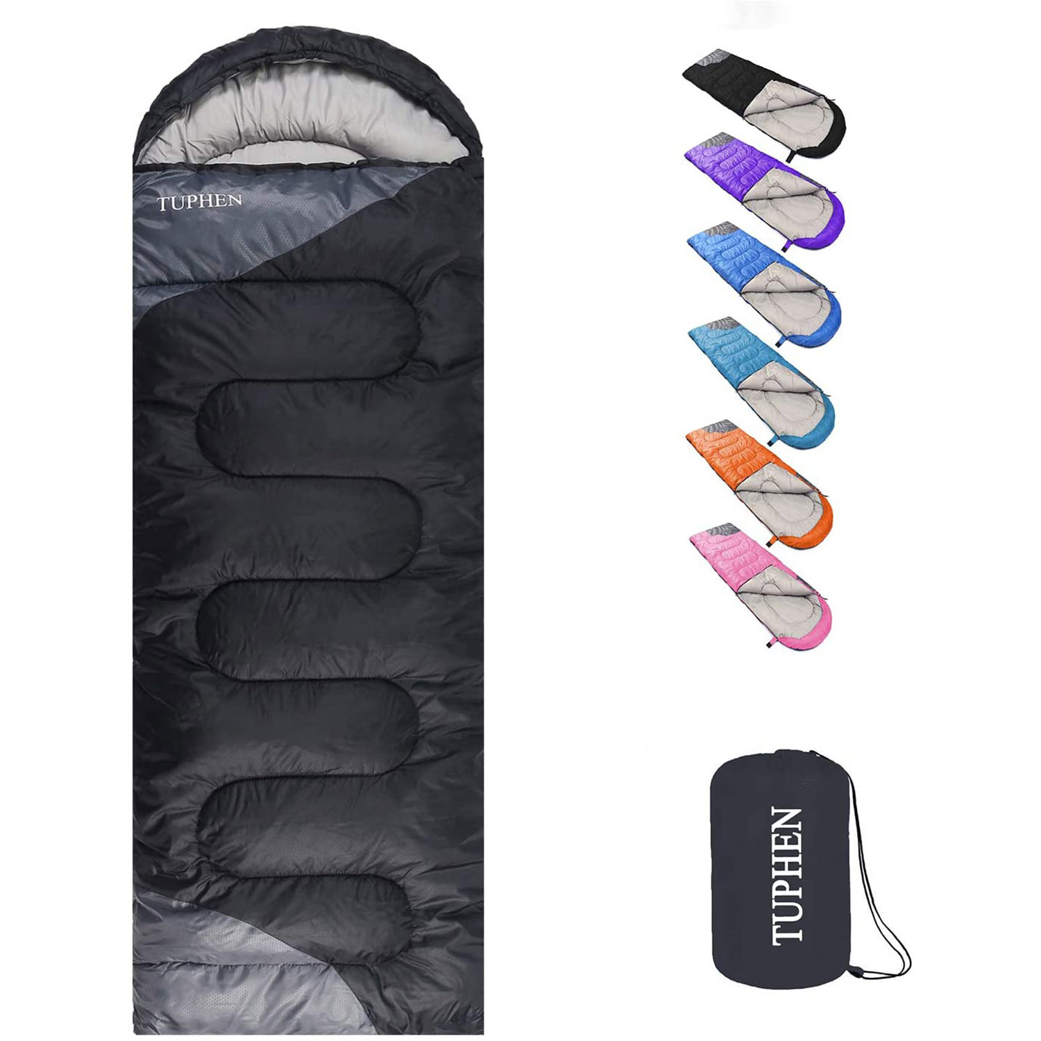 Sleeping Bags for Adults Kids Boys Girls Backpacking Hiking Camping Cotton Liner