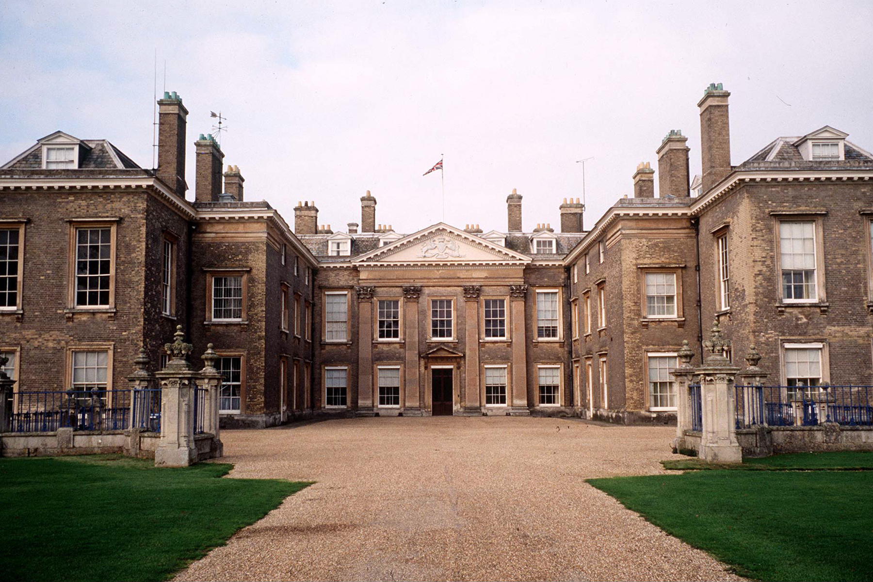 Althorp House In Northamptonshire, The Spencer Family Home At The Time Of The Announcement Of The Wedding Of Lady Diana Spencer