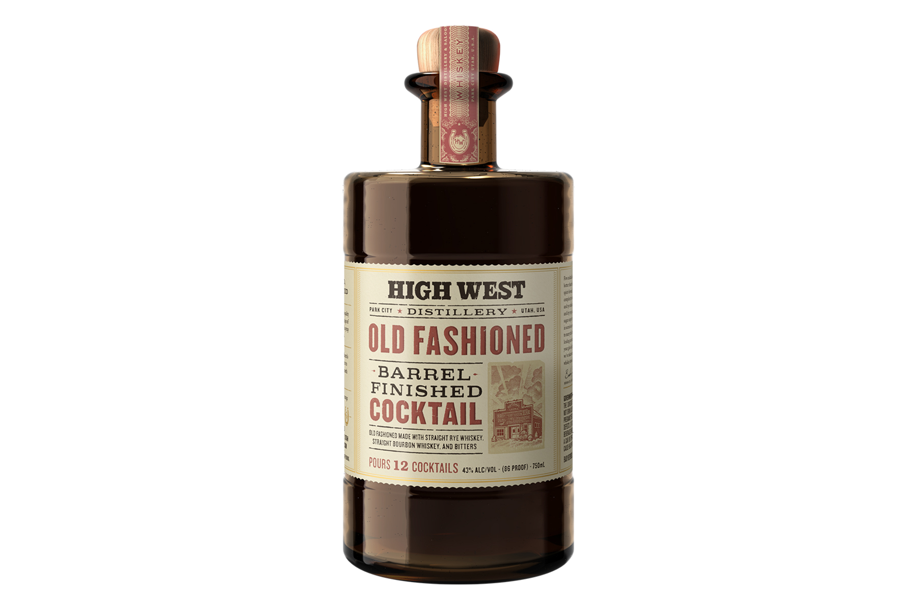 High West Barrel Aged Old Fashioned