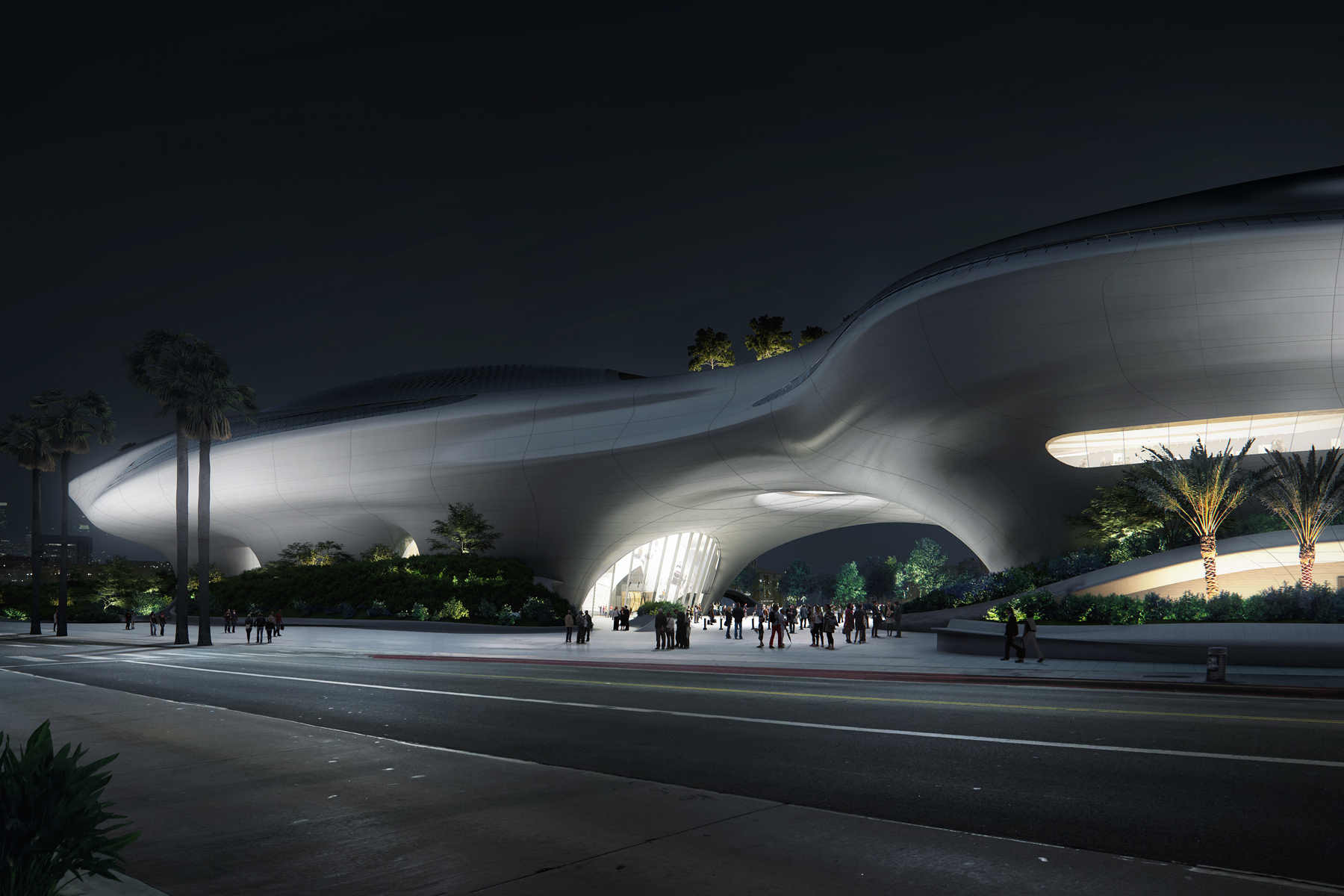 Lucas Museum in Los Angeles
