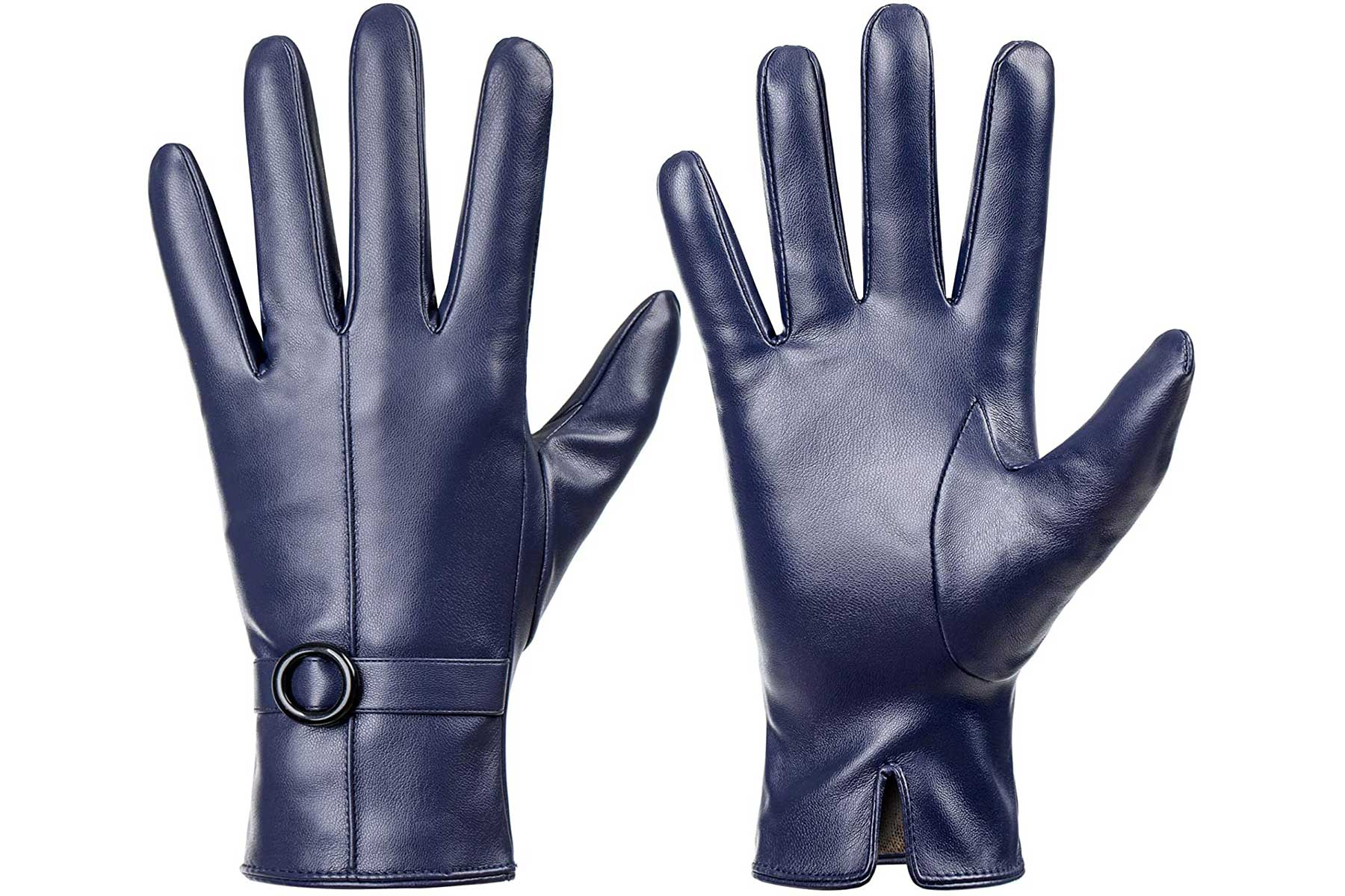 Deanne touch screen gloves navy