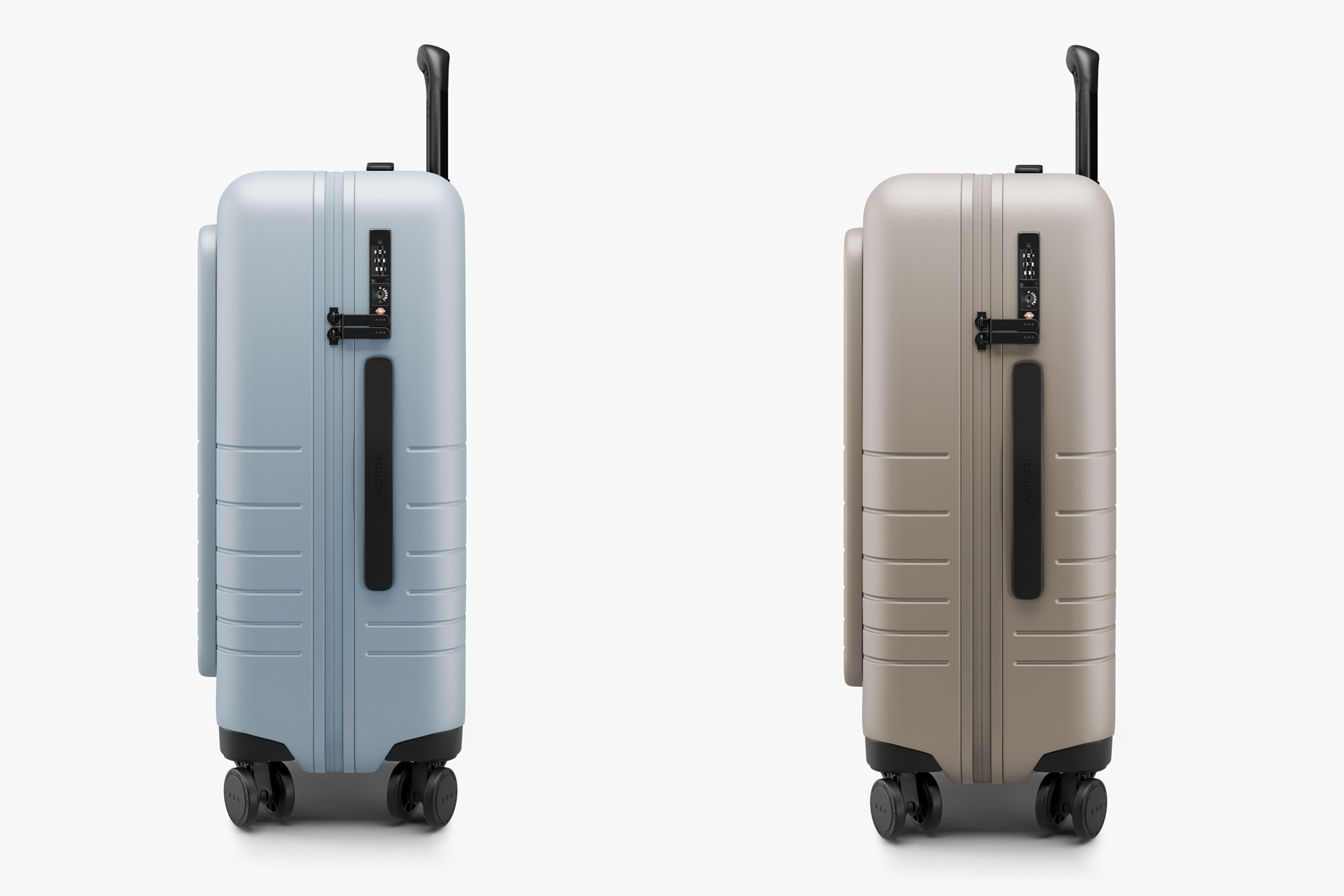 Monos Carry On Pro Hardside suitcase side view