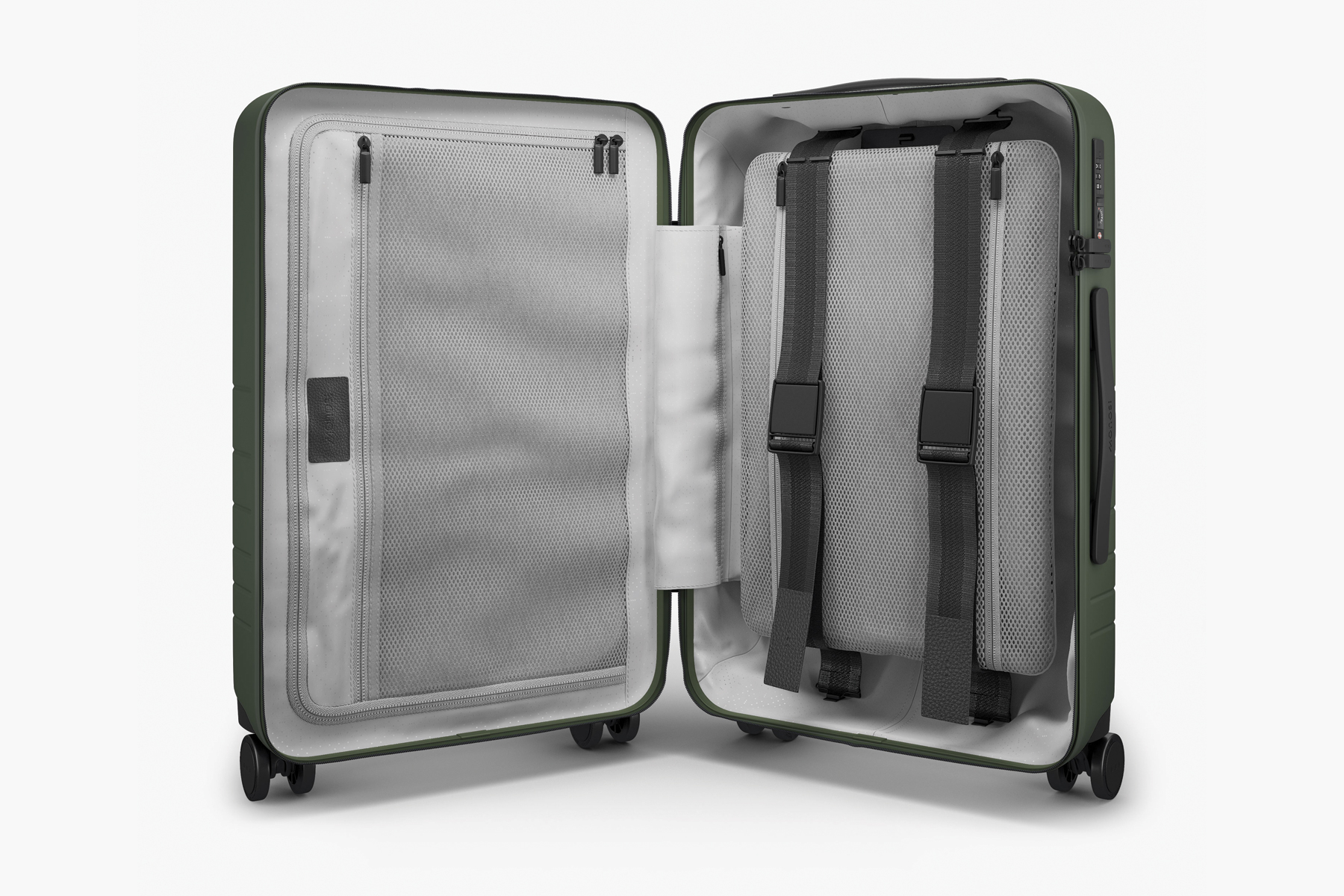 Monos Carry On Pro Hardside suitcase interior