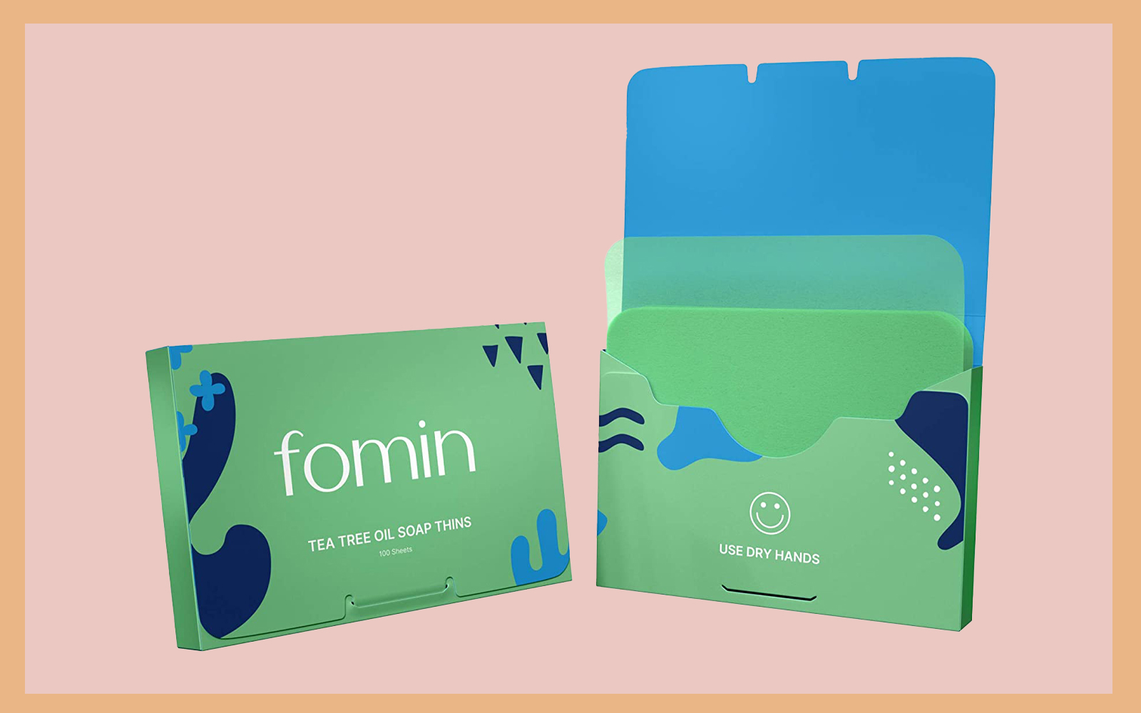 FOMIN 3-Pack Variety Foaming Hand Soap Sheets