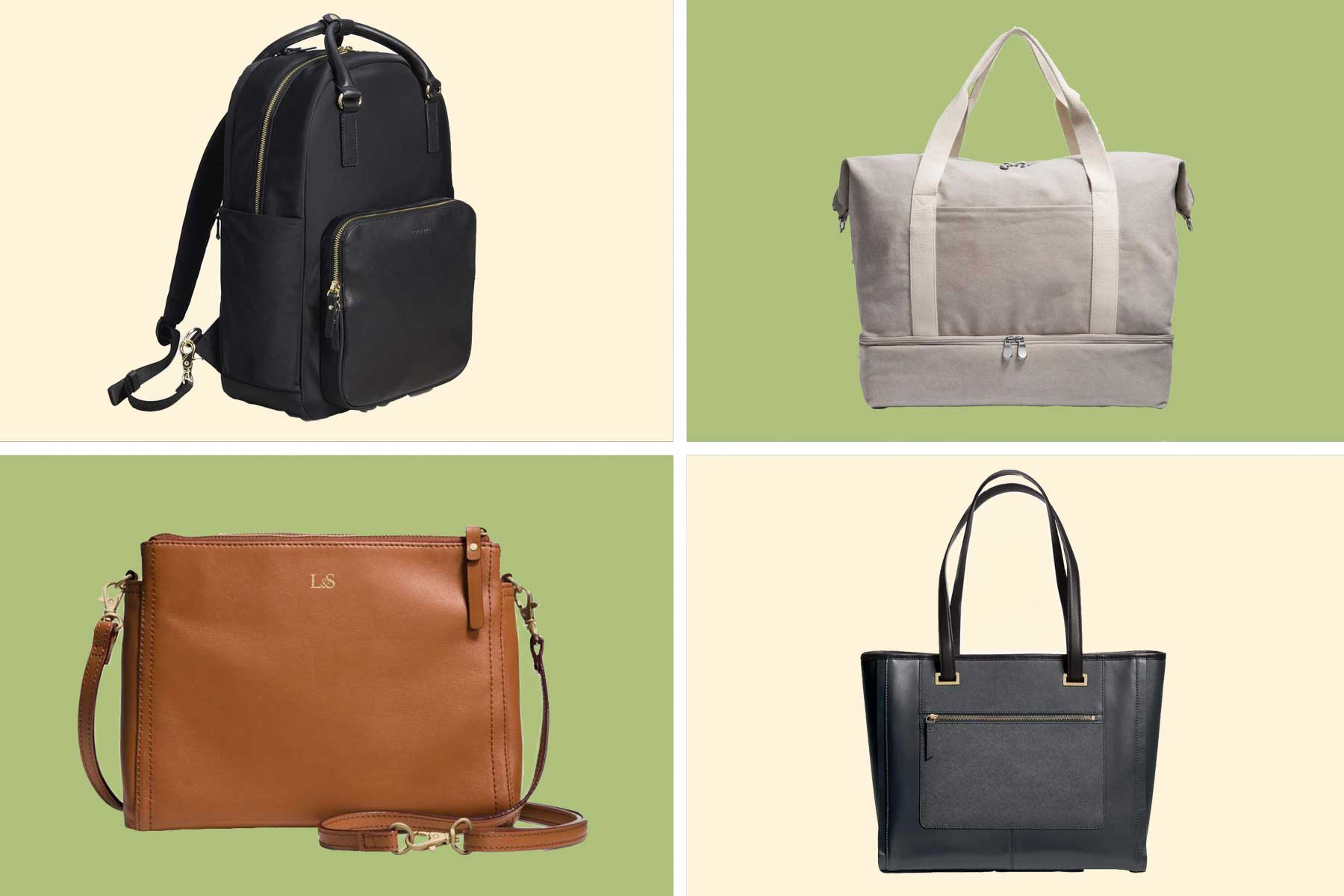 Bags from Lo & Sons post-holiday sale