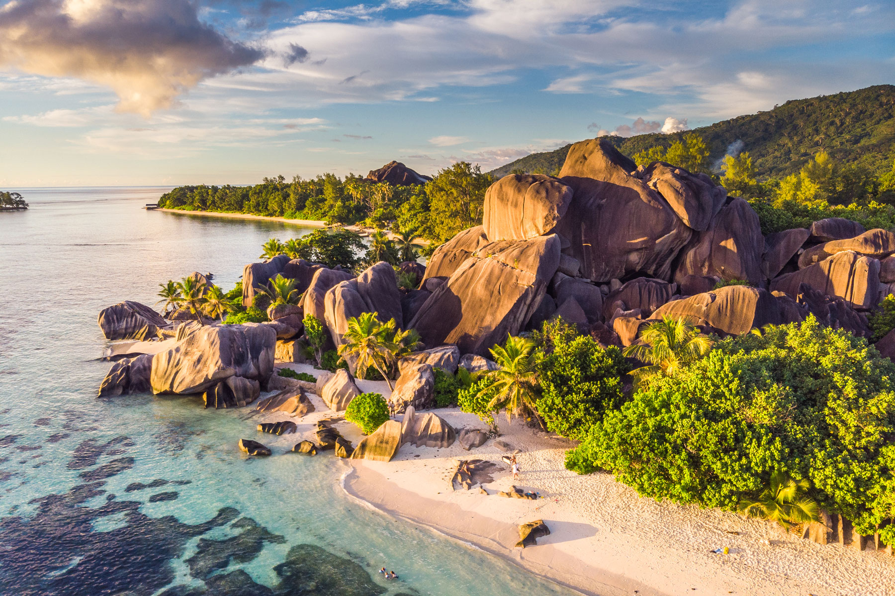 Anse Source d'Argent in Seychelles