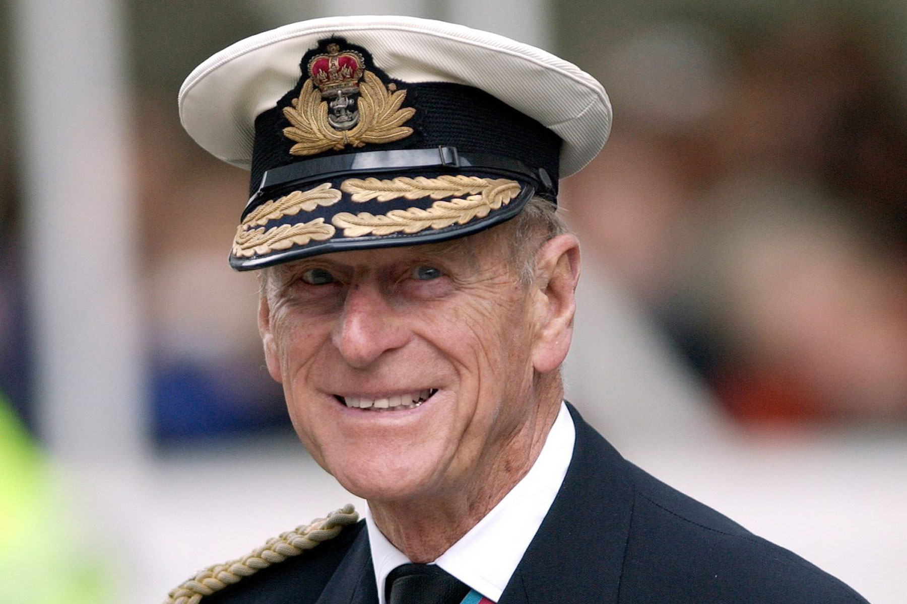 Prince Philip In Military Uniform As Admiral Of The Fleet In The Royal Navy For A Service Of Remembrance For The Iraq War