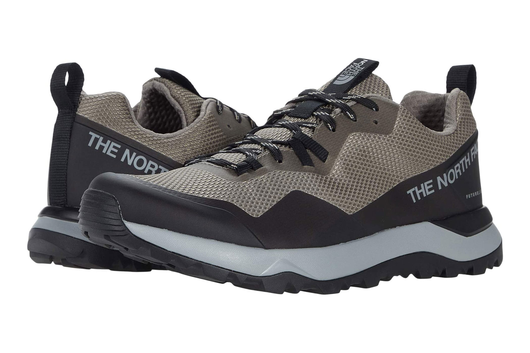 North Face grey hiking shoes