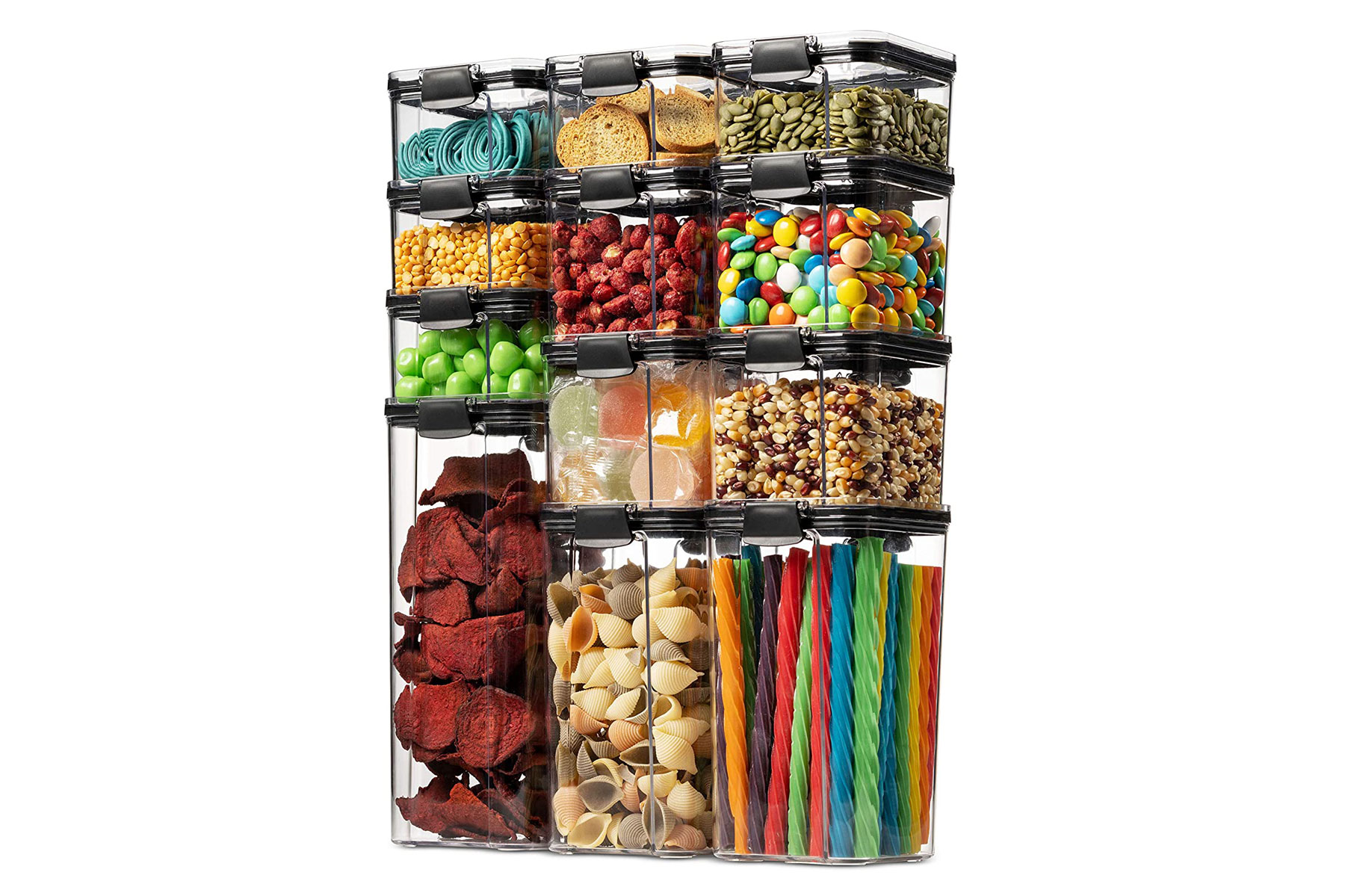 Food storage clear containers