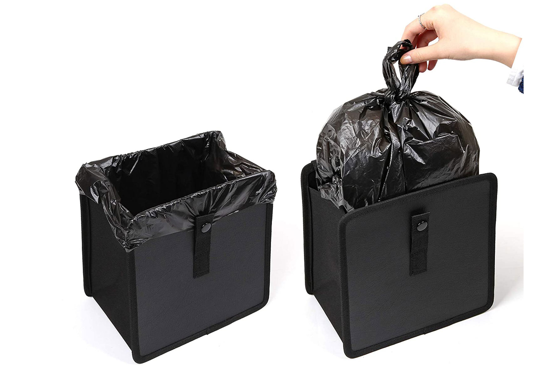 garbage can for cars