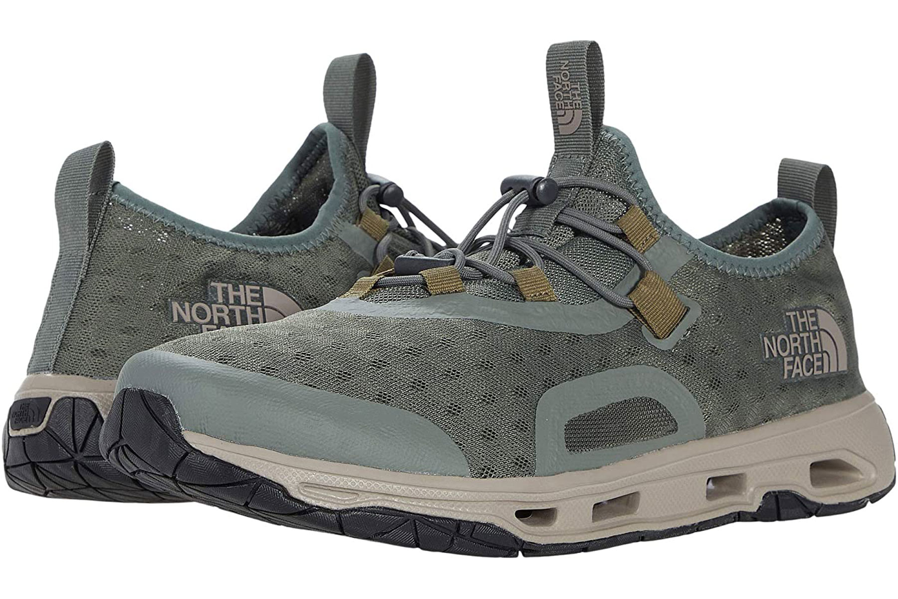 Olive green water shoes