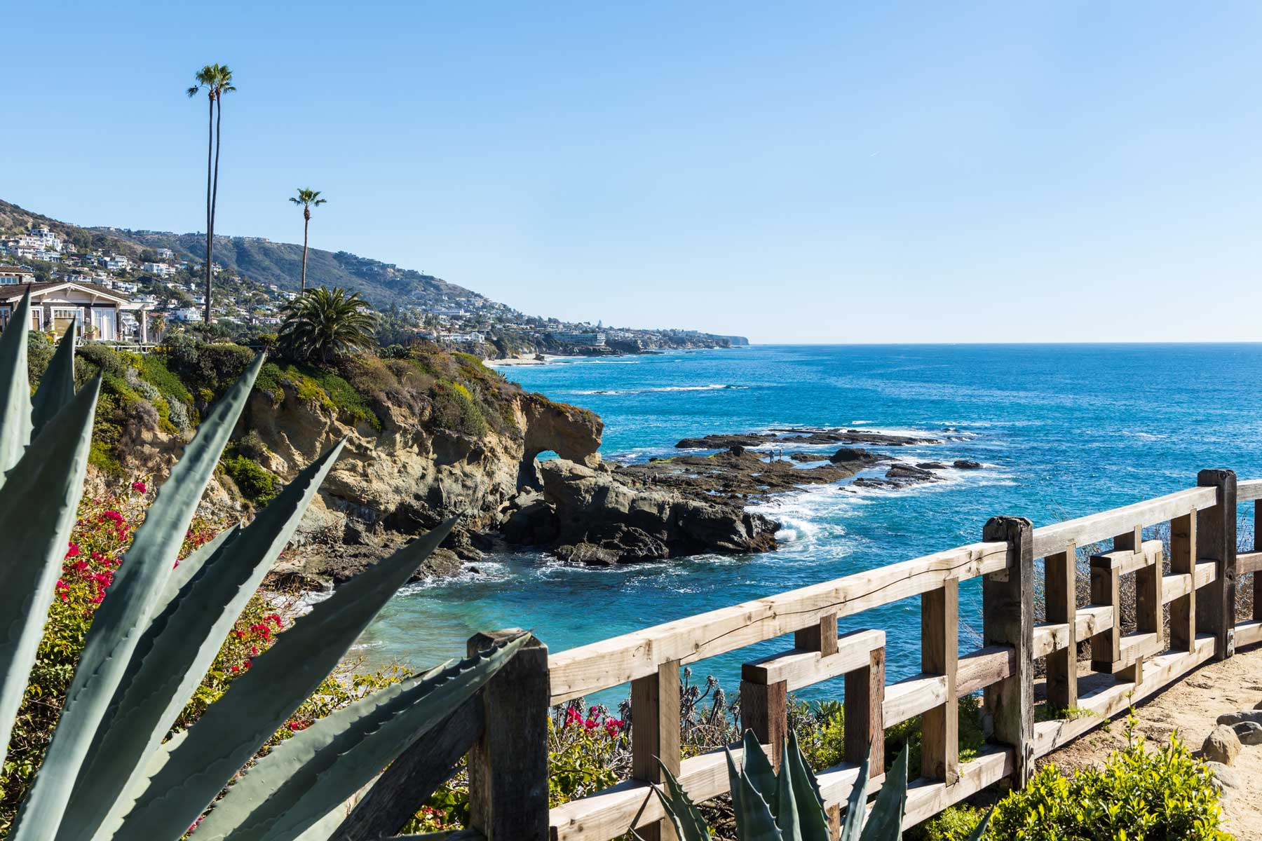 Southern California landscape, Pacific Ocean view