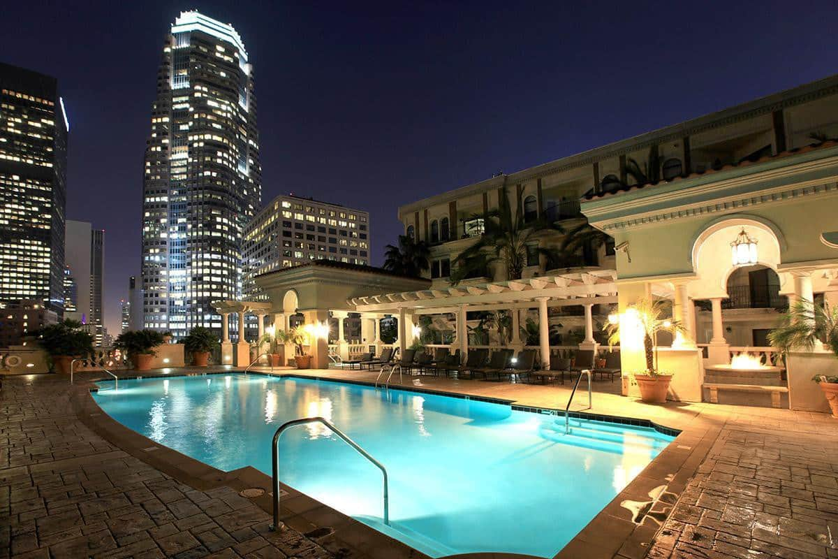 Luxury Downtown Los Angeles apartment