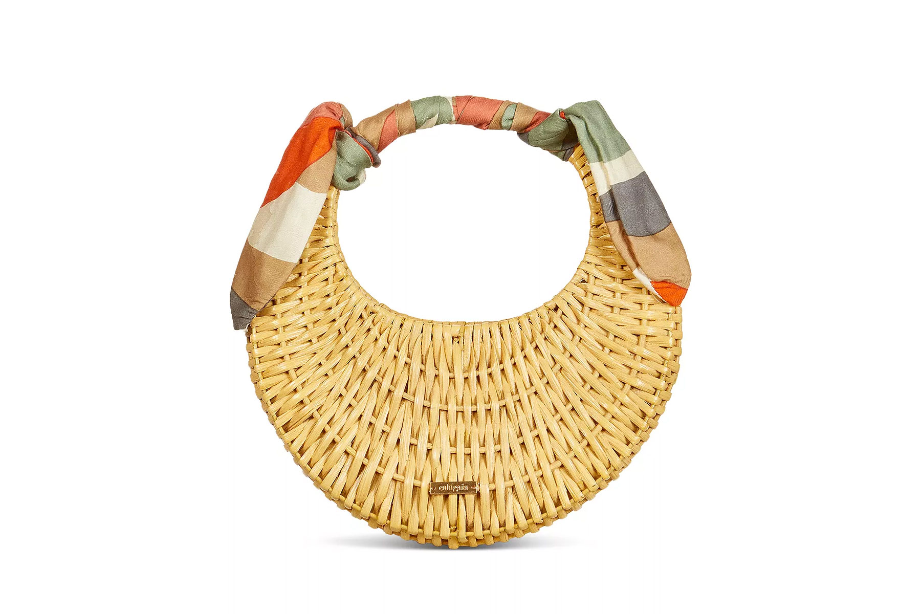 Cult Gaia Taja Mini Rattan Bag