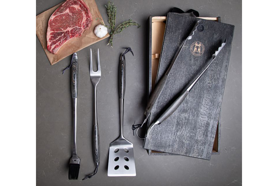 schmidt brothers grill tool set
