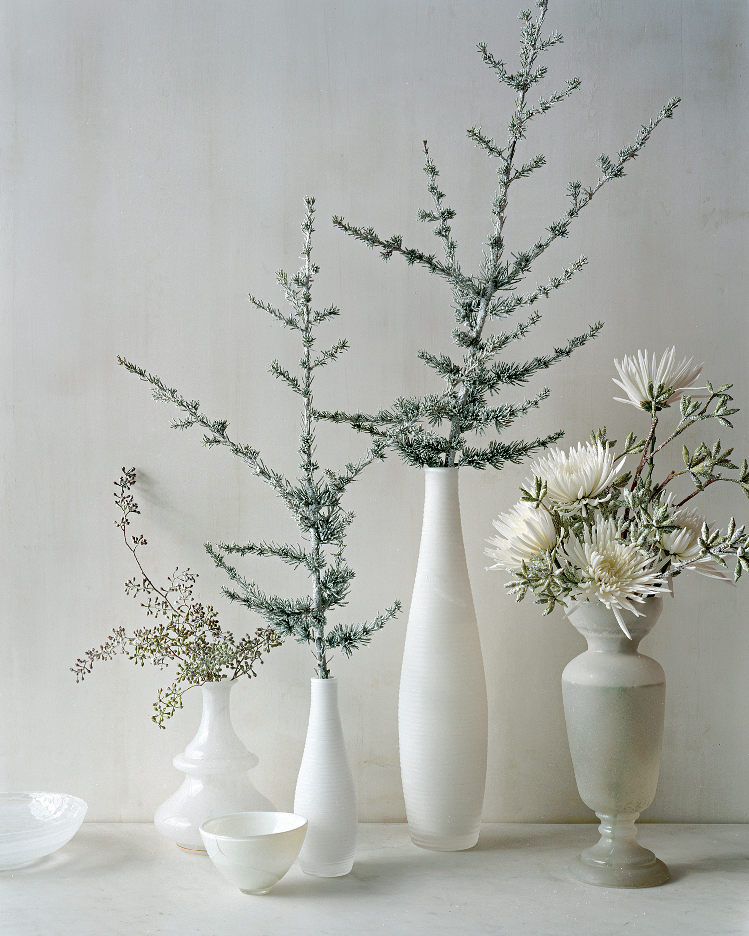 Small White Arrangements