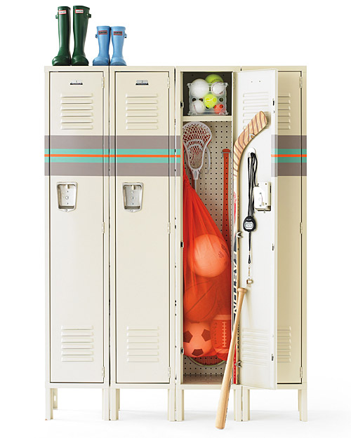 Install Stylish Lockers