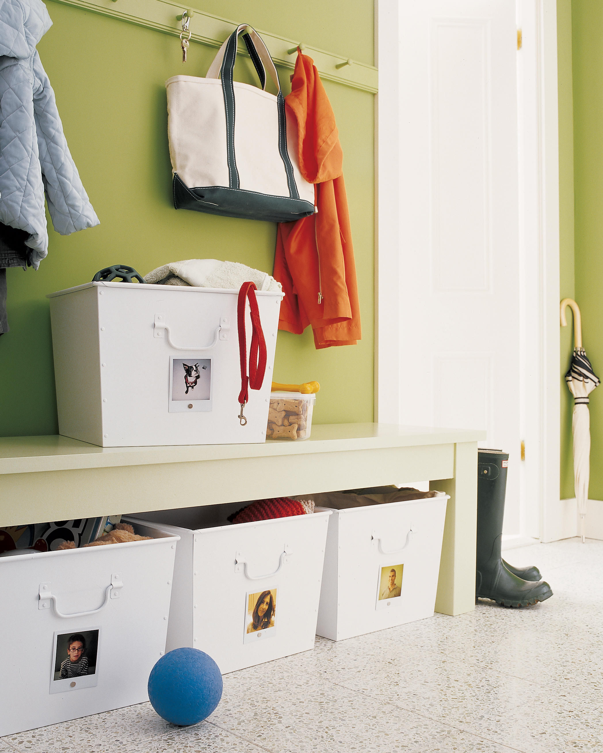 Family Mudroom Organizer