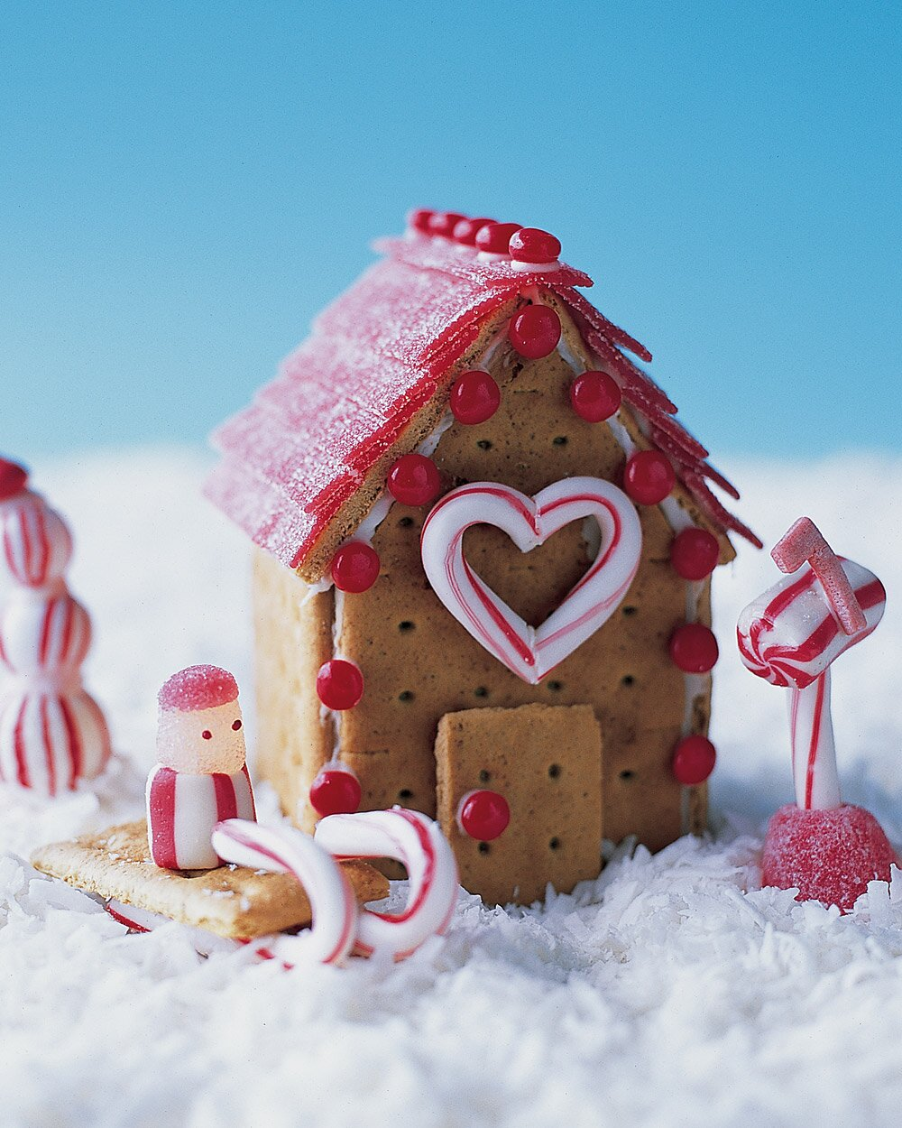 No-Bake Cookie Cottages