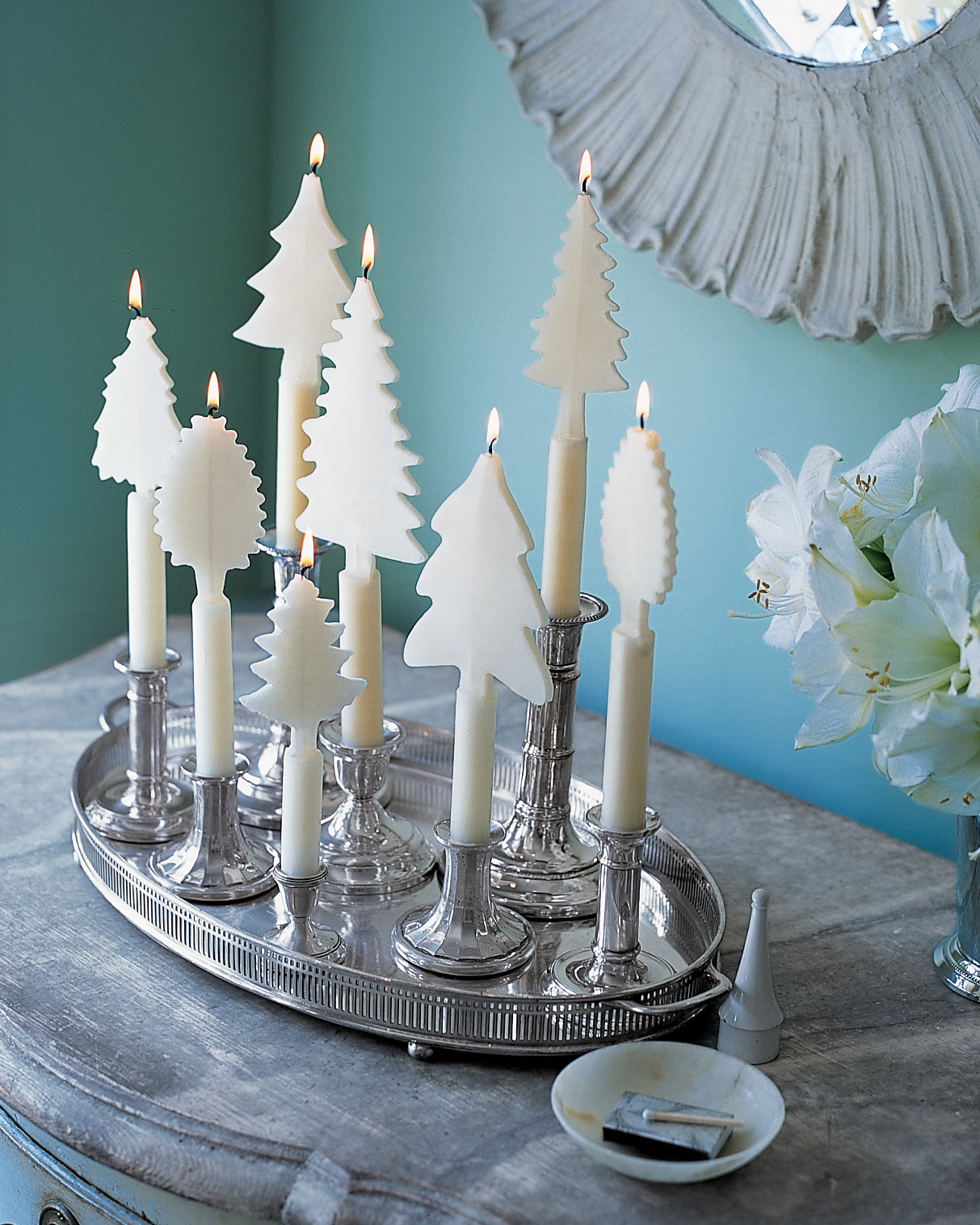 Tree-Shaped Candles