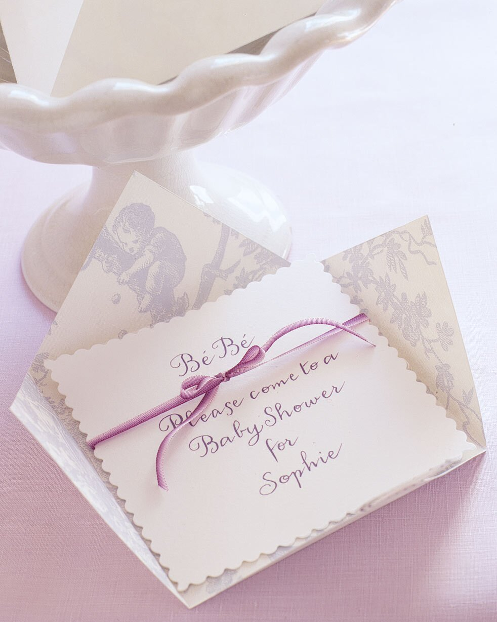 French Countryside Baby Shower