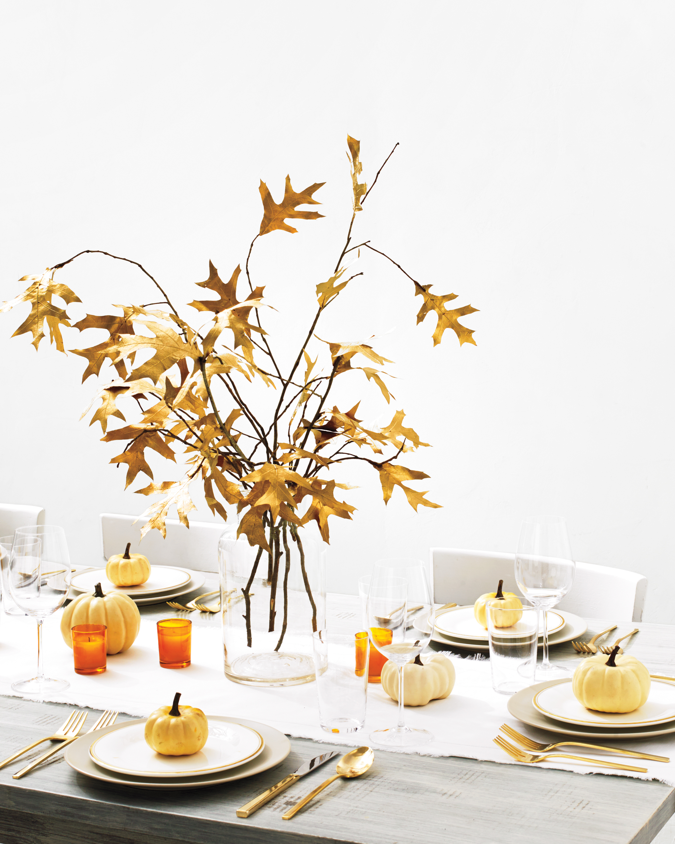 Gilded Table Setting