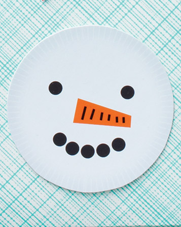 Smiley-Faced Snowman Gift Tags