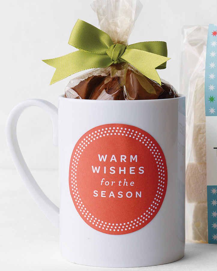 Warm Wishes  Labels