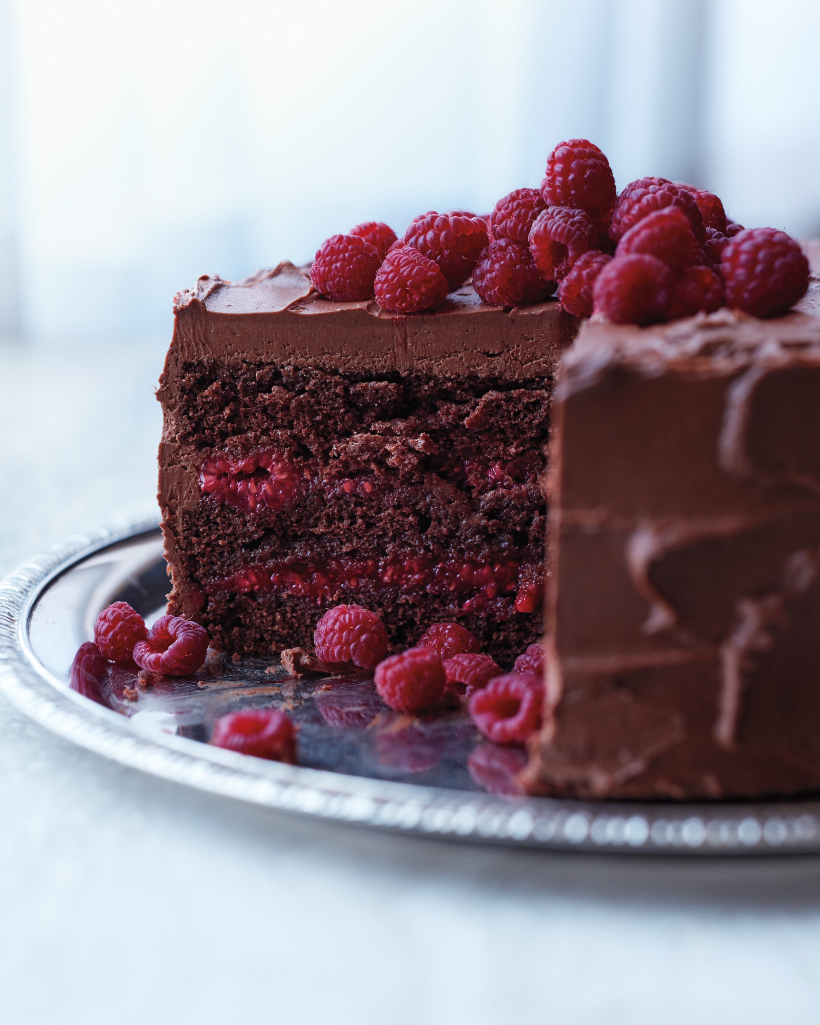 Chocolate Raspberry Cake Martha Stewart