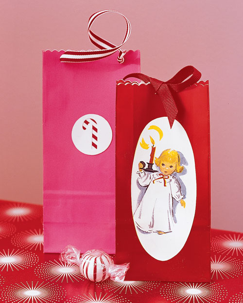 Holiday Card Gift Bags